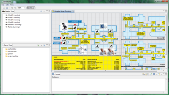 Rifidi RFID stream simulation environment