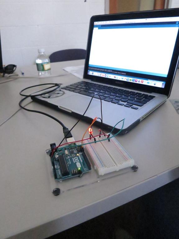 Arduino blinking