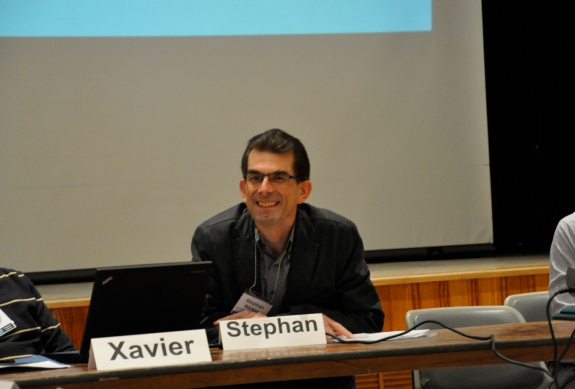 Stephan Winter as moderator