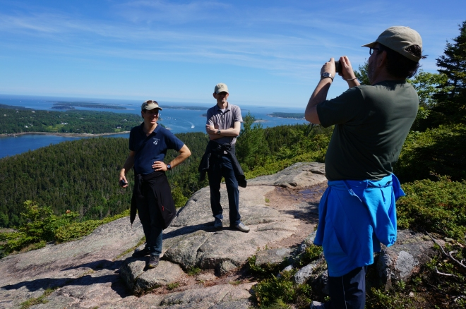 HIking Saveur Mtg (with Mike Gould, Stephan Winter and Gilberto Camara)
