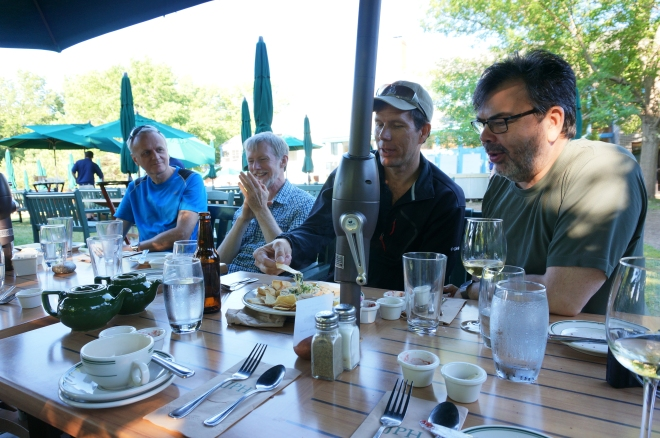 Jordan Pond Restaurant's Popovers and local beer