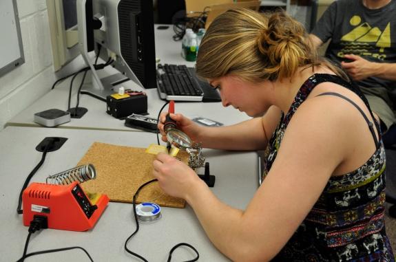 Katie practice soldering